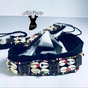 Accessories - Cowrie Bohemian belt NWOT